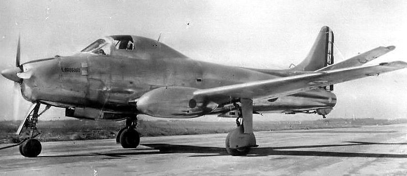 Le prototype n°2 transformé en Br. 965, prototype du l'alizé