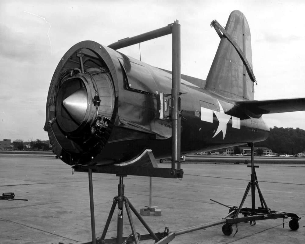 Section arrière du FR-1