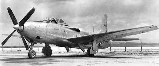 Image result for xp-81 aircraft
