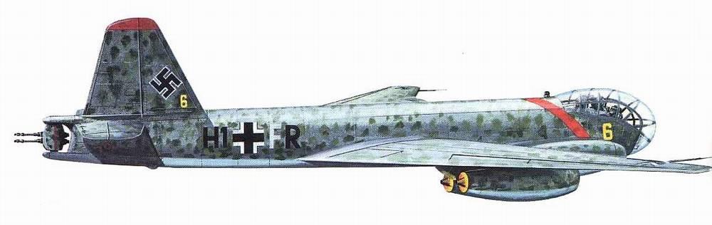 Ju-287 de série