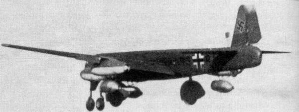 Le Ju-287 V1 en vol